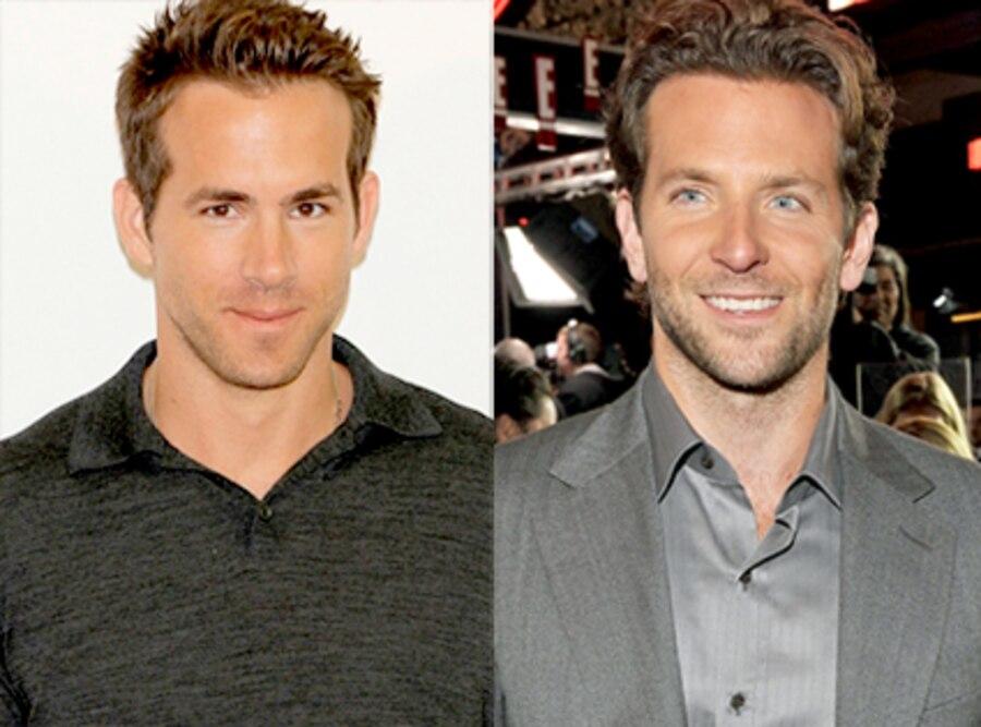 Ryan Reynolds, Bradley Cooper