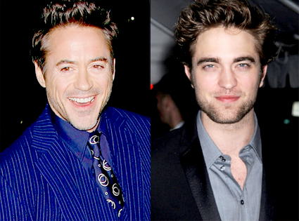 Robert Downey Jr., Robert Pattinson