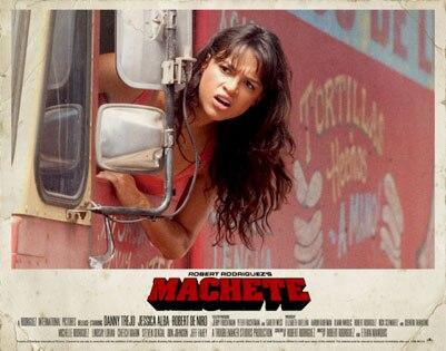 Machete, Michelle Rodriguez