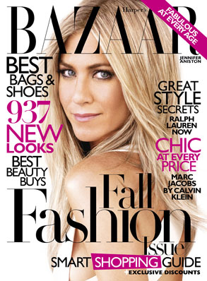 Harper's Bazaar, Jennifer Aniston