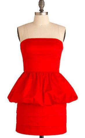 BB Dakota Get Red-Y Dress