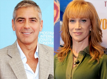 George Clooney, Kathy Griffin