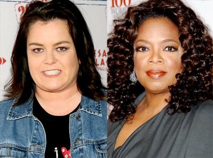 Rosie O'Donnell, Oprah Winfrey