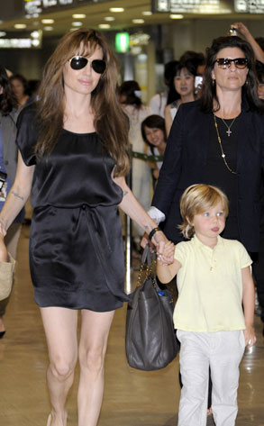 Angelina Jolie, Shiloh Jolie- Pitt