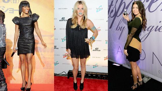 Jada Pinkett Smith, Kesha, Fergie