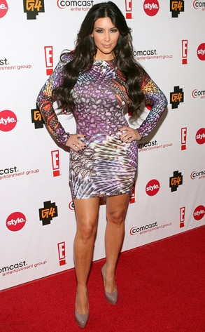 Kim Kardashian, CEG TCA Party