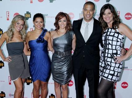 Melana Scantlin, Kristina Guerrero, Amy Paffrath, Michael Yo, Kristin Dos SantosCEG TCA Party