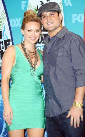 Hilary Duff, Mike Comrie