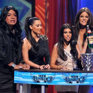 George Lopez, Kim Kardashian, Kourtney Kardashian, Khloe Kardashian