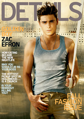 Zac Efron, Details Cover