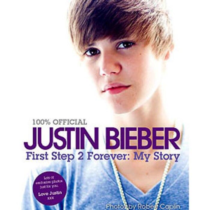 Justin Bieber, Book Cover
