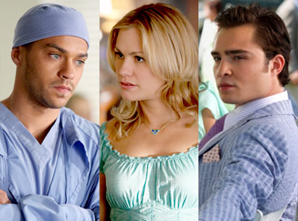 Jesse Williams, Anna Paquin, Ed Westwick
