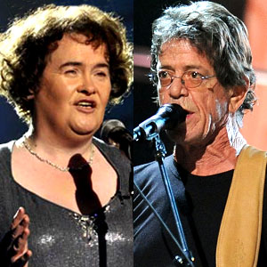 Susan Boyle,  Lou Reed