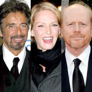 Al Pacino, Uma Thurman, Ron Howard