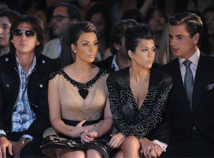 Kim Kardashian, Jonathan Cheban, Kourtney Kardashian, Scott Disick