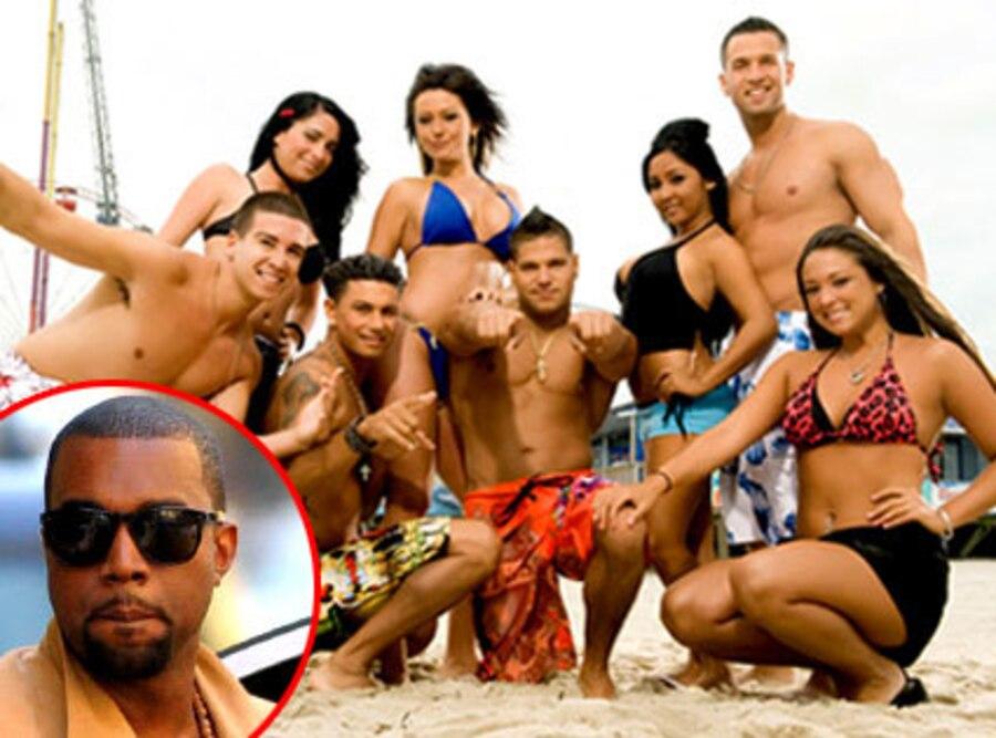 Jersey Shore Cast, Kanye West