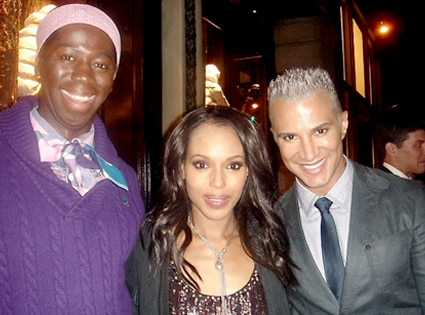 Miss J, Kerry Washington, Jay Manuel