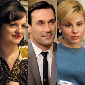Mad Men: Elisabeth Moss, Jon Hamm, Cara Buono