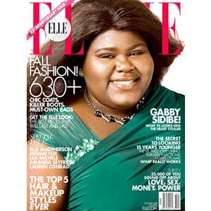 Gabourey Sidibe, Elle Cover