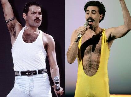 Sacha Baron Cohen, Freddie Mercury