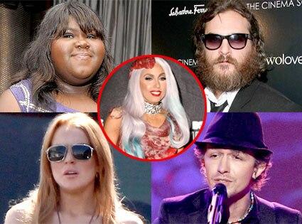 Week in Review, Gabourey Sidibe, Joaquin Phoenix, Lindsay Lohan, Michael Grimm, Lady Gaga