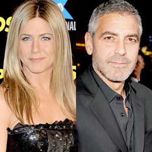 Jennifer Aniston, George Clooney
