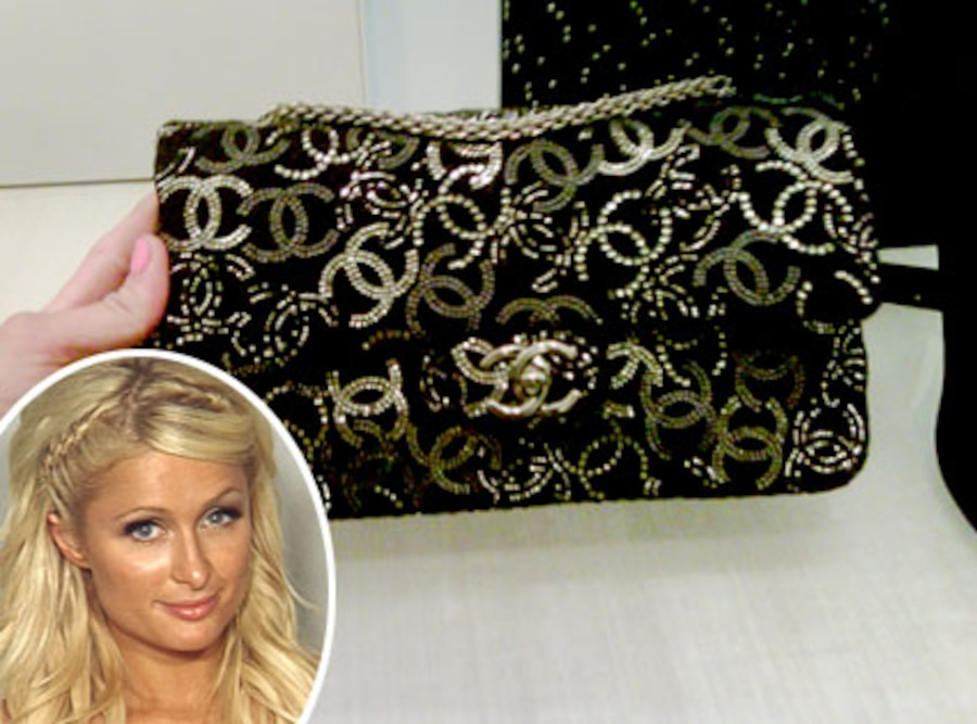 Paris Hilton, Chanel Purse, Mugshot