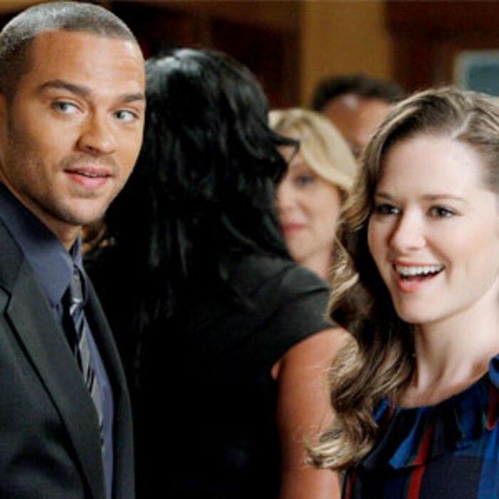 Greys Anatomy, Jesse Williams, Jessica Capshaw