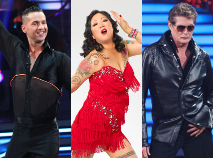 David Hasselhoff, Margaret Cho, Mike Sorrentino,The Situation
