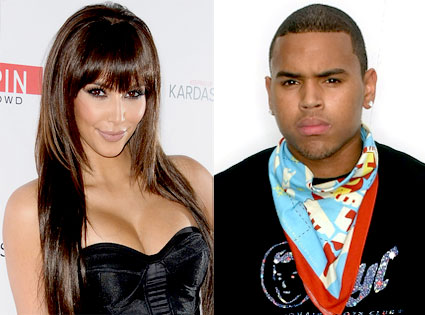 Kim Kardashian, Chris Brown