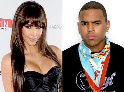 Kim Kardashian, Chris Brown