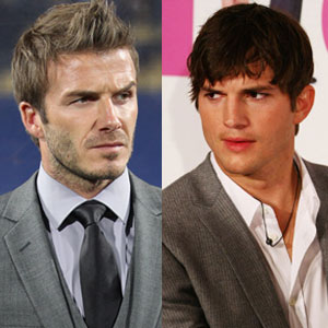David Beckham, Ashton Kutcher
