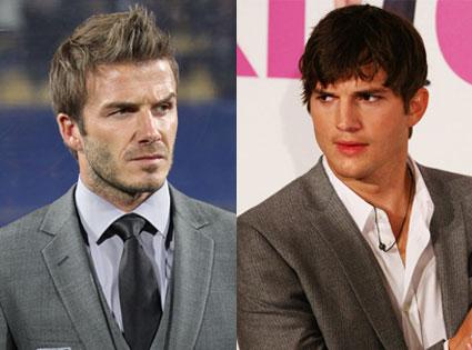 David Beckham, Ashton Kutcher