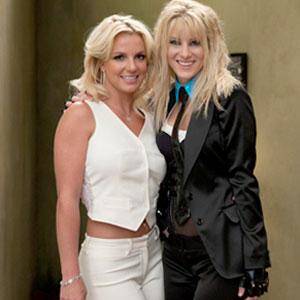Glee, Britney Spears, Heather Morris