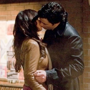 Tom Welling, Erica Durance, Smallville