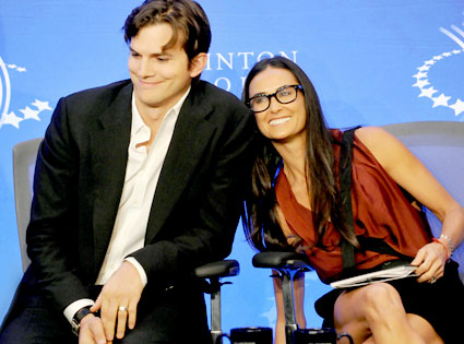 Ashton Kutcher, Demi Moore