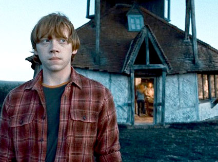 Rupert Grint, Harry Potter and The Deathly Hallows Photos