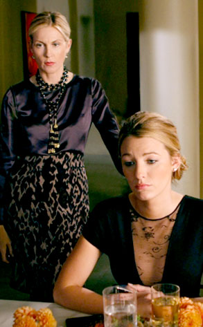 Kelly Rutherford, Blake Lively, Gossip Girl