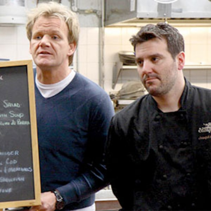 more kitchen nightmares uncovered suicidal chef had cocaine arrest e news. Black Bedroom Furniture Sets. Home Design Ideas