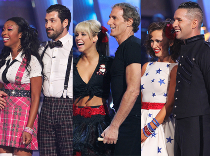 Brandy, Maskim Chmerkovskiy, Chelsea Hightower, Michael Bolton, Karina Smirnoff, Mike The Situation Sorrentino, Dancing with the Stars