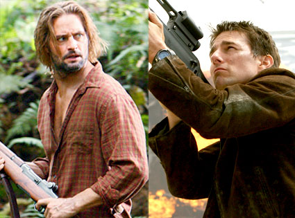 Josh Holloway, Tom Cruise