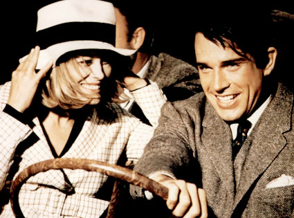 Faye Dunaway, Warren Beatty, Bonnie and Clyde