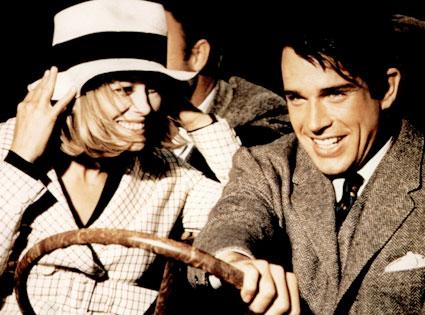 Faye Dunaway, Warren Beatty, Bonnie and Clyde