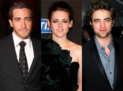 Jake Gyllenhaal, Kristen Stewart, Robert Pattinson