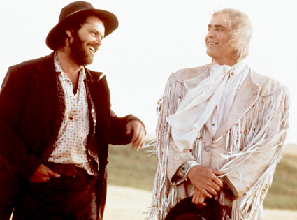 Jack Nicholson, Marlon Brando, The Missouri Breaks
