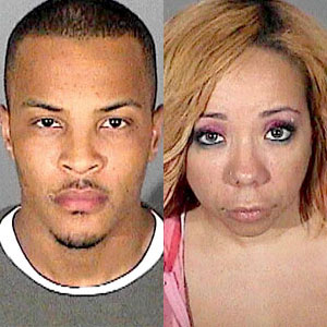 Clifford T.I. Harris, Tameka Tiny Cottle, Mugshot