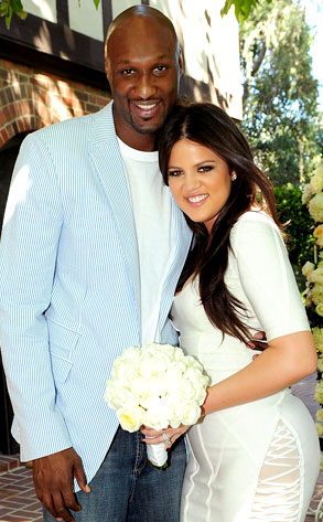 Khloe And Lamar Odom Renew Wedding Vows On Keeping Up With The Kardashians