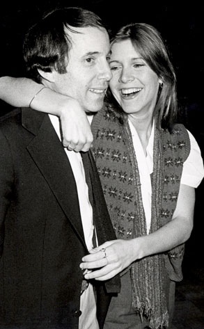 Paul Simon, Carrie Fisher