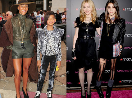 Jada Pinkett Smith, Willow, Madonna, Lourdes