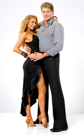 DWTS, David Hasselhoff, Kym Johnson